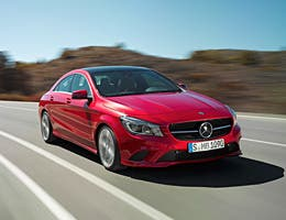 Mercedes-Benz CLA with Premium Package