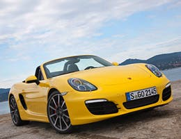 Porsche Boxster with CDR Plus Audio System