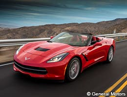 Chevrolet Corvette Stingray 1LT Convertible © General Motors