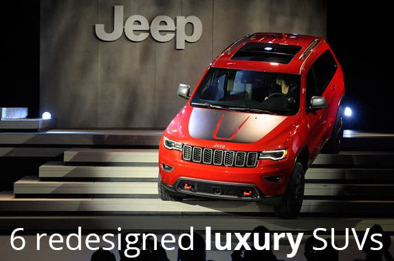 6 redesigned luxury SUVs from the NY auto show | Jeep