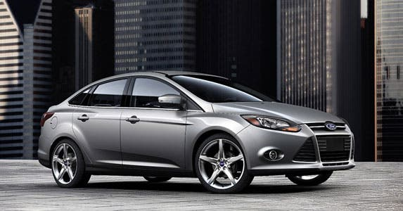 Ford Focus Sedan Titanium © Ford Motor Company