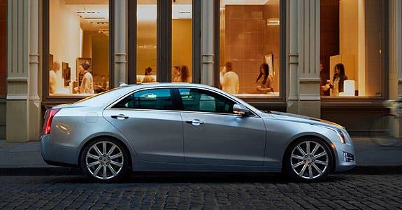 2014 Cadillac ATS © General Motors