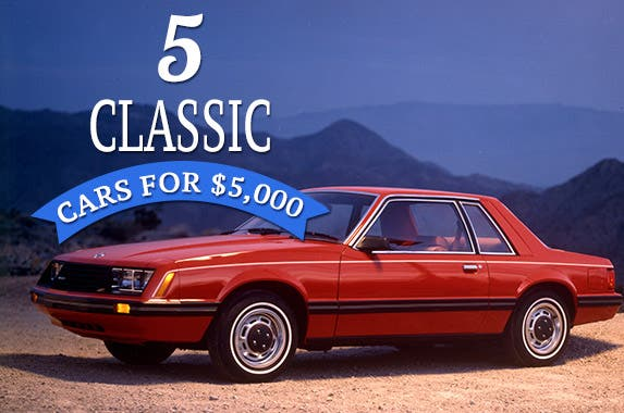 Muscle Cars Under 5k >> 5 Classic Cars For 5 000 Bankrate Com