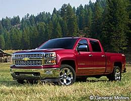 2014 Chevrolet Silverado 1500 © General Motors