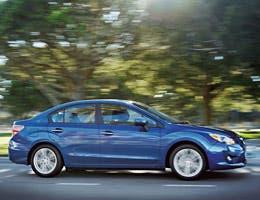 Subaru Impreza WRX sedan or hatchback
