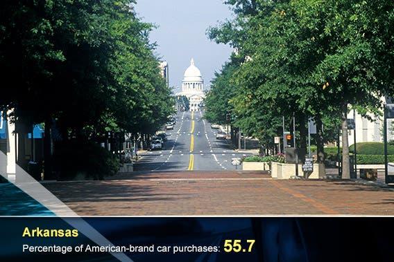 Arkansas © spirit of america/Shutterstock.com