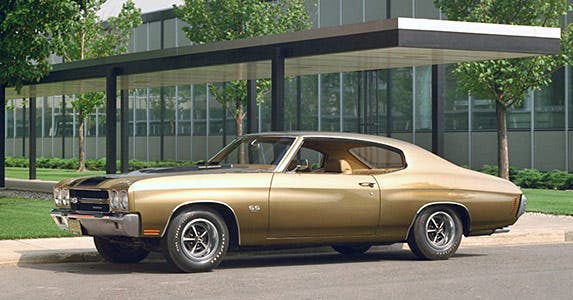 1970 Chevrolet Chevelle SS 454 © General Motors