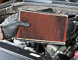 You don't change the air filter © Joe Belanger/Shutterstock.com