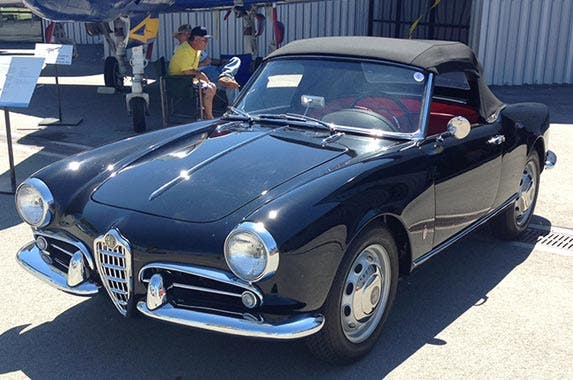 1958 Alfa Romeo Giulietta Spider Veloce | Photo courtesy of Motor Press Guild