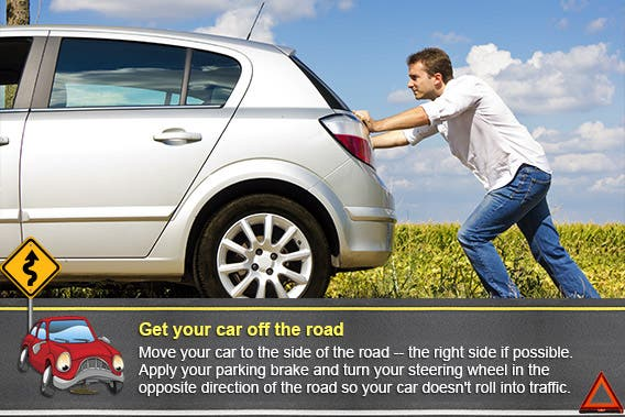 Get your car off the road | © TijanaM/Shutterstock.com