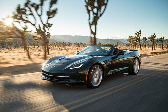 Chevrolet Corvette Stingray Convertible 2LT