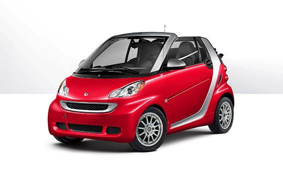Mercedes-Benz Smart fortwo passion cabriolet