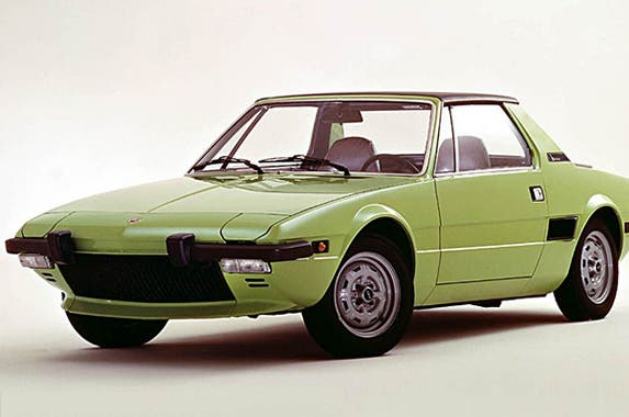 Classic cars fuel economy| © Photo courtesy Fiat