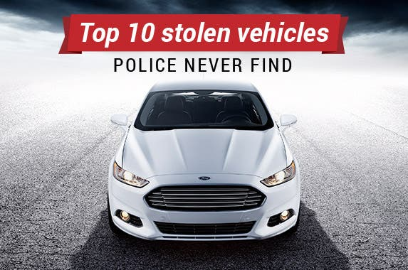 Top 10 stolen vehicles police never find