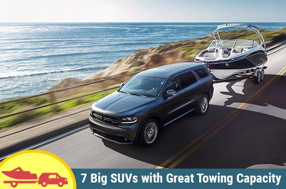 7 best big SUVs for towing