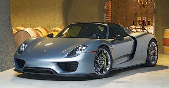 Porsche 918 Spyder © Porsche