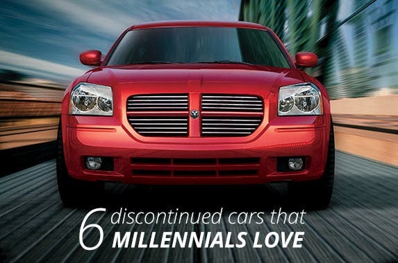 6 used cars that millennials love | Dodge
