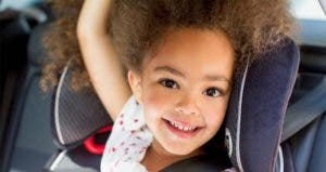 Little girl sitting on car seat | Photo courtesy of Buckle Up For Life