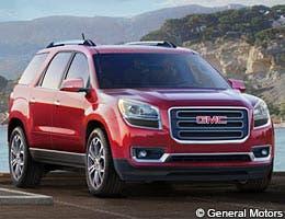 2014 GMC Acadia © General Motors