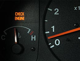 Pay attention to your 'check engine' light © Eric Fleming Photography/Shutterstock.com