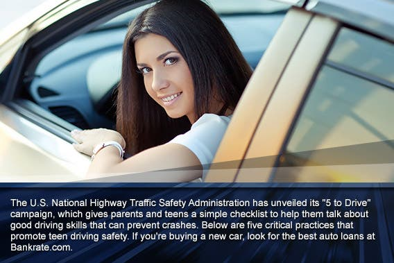 For Safe Teen Driving Five 110