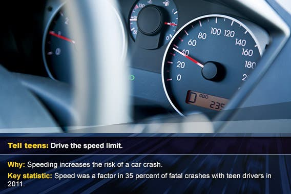 Drive the speed limit © Eldad Carin/Shutterstock.com, overlay: © SP-Photo/Shutterstock.com