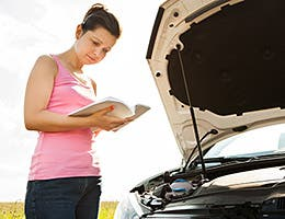 Read your car owner's manual © Andrey_Popov/Shutterstock.com