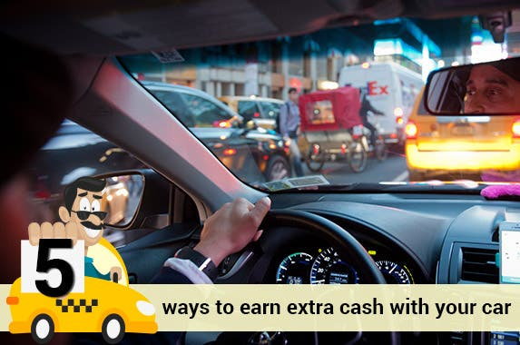 Use your car to earn cash