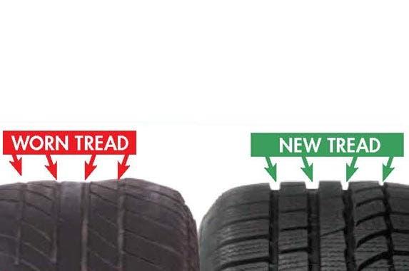 Tire tread | Courtesy Rain-X