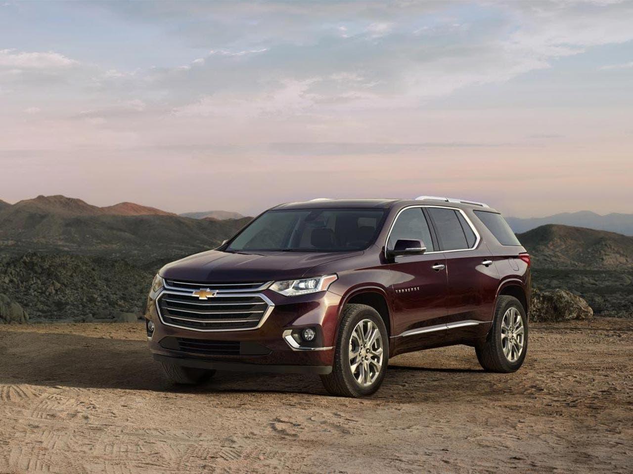 2018 Chevrolet Traverse © General Motors