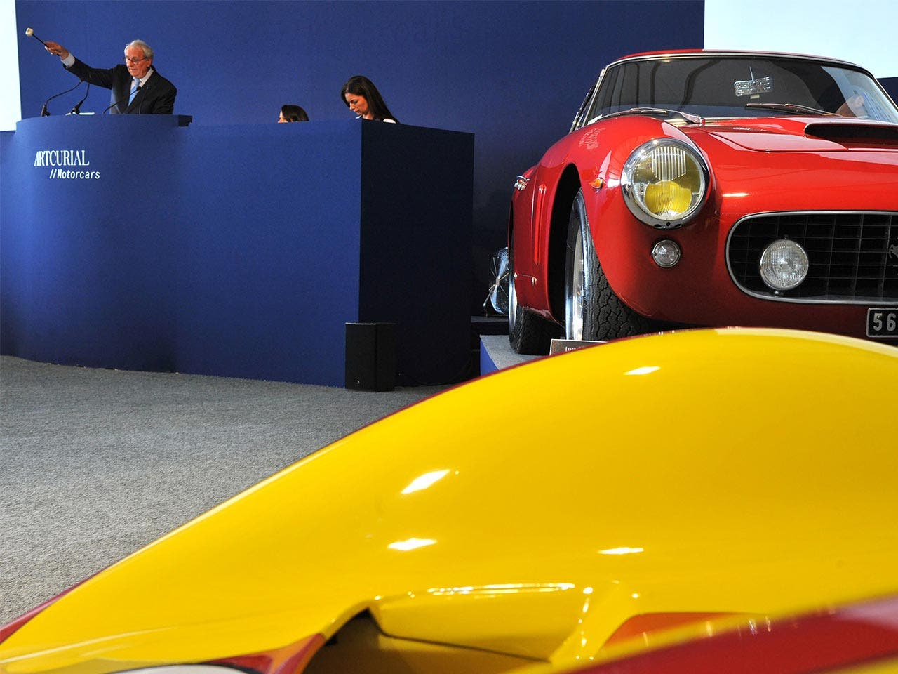 Expensive cars sold at auction | JEAN-FRANCOIS MONIER/Getty Images