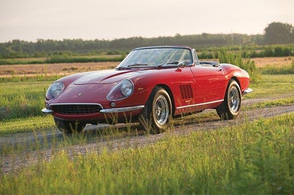 1967 Ferrari 275 GTB/4*S N.A.R.T. Spyder | Credit: Darin Schnabel/RM Sotheby's