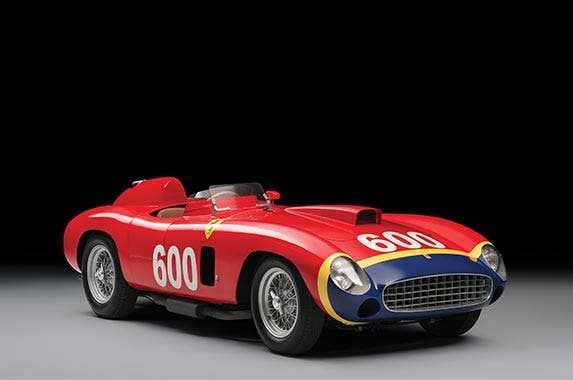 1956 Ferrari 290 MM Spider | Credit: Tim Scott/Fluid Images/RM Sotheby's