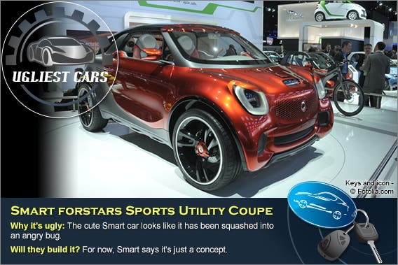 Smart forstars Sports Utility Coupe