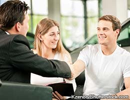 Dealerships make selling easy
