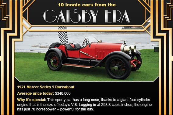 1921 Mercer Series 5 Raceabout