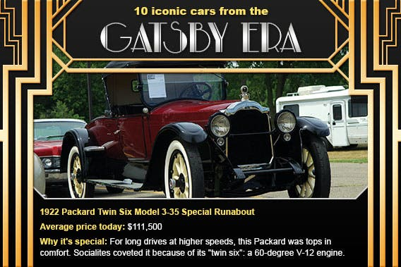 1922 Packard Twin Six Model 3-35 Special Runabout