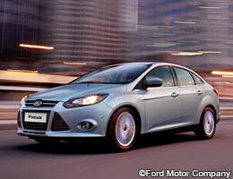 Ford Focus ©Ford Motor Company