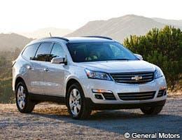 Chevrolet Traverse © General Motors