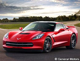 Chevrolet Corvette Coupe © General Motors