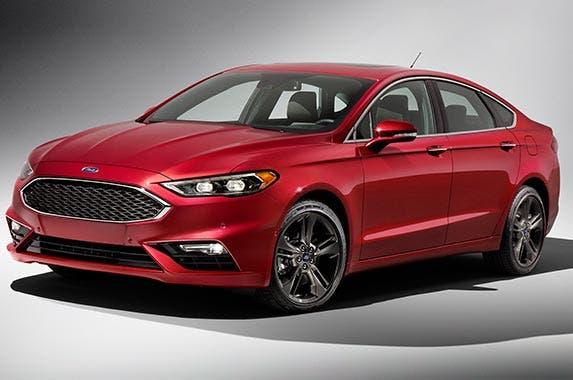 2017 Ford Fusion Titanium | Ford Motor Company