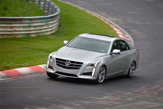2014 Cadillac CTS Sedan © General Motors