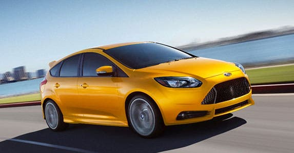 Ford Focus ST (with 201A equipment group) © Ford Motor Company