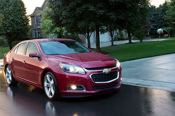 Chevrolet Malibu 4-door LS Sedan © General Motors