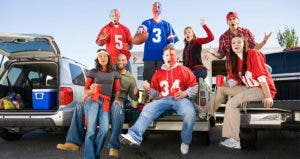 Group of young people tailgating | Fuse/Getty Image