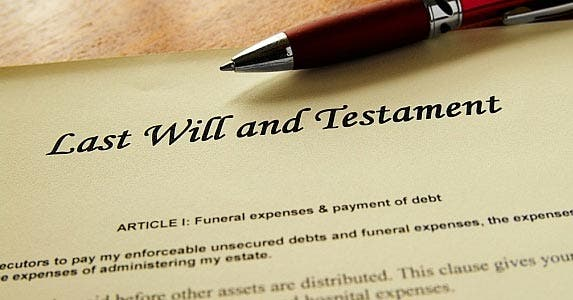 Find the will or trust © zimmytws / Fotolia