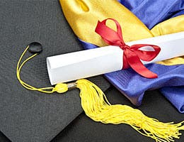 Tip No. 2: Save for college © Joe Belanger/Shutterstock.com