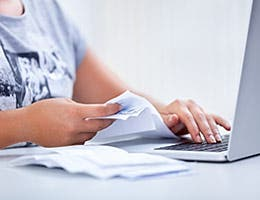 Free online banking and bill pay are available © Lucky Business/Shutterstock.com