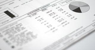 Investment summary © 1125089601/Shutterstock.com