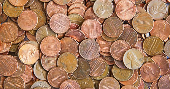 Penny stocks © Natali Glado/Shutterstock.com